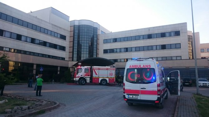 KOÜ Tıp Fakültesi Hastanesinde yangın