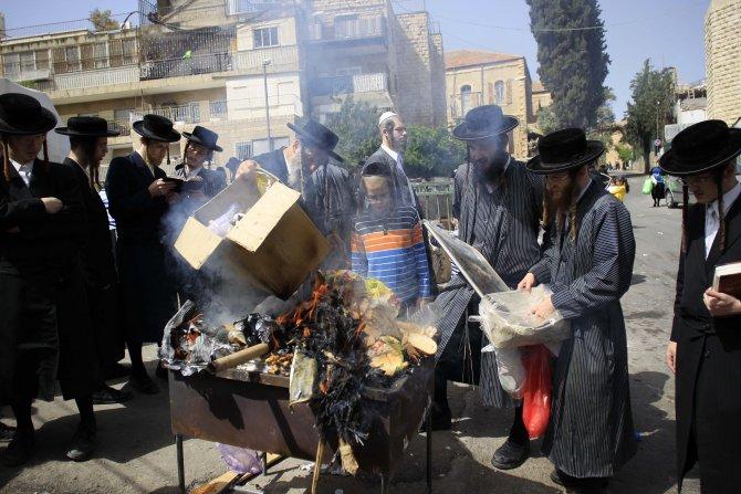 Yahudilerin Hamursuz bayramı başladı