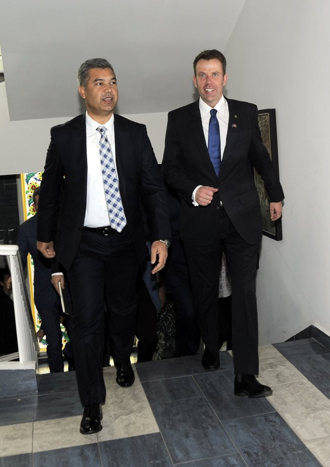 Avustralya Gazi İşleri Bakanı Tehan, Çanakkale'de
