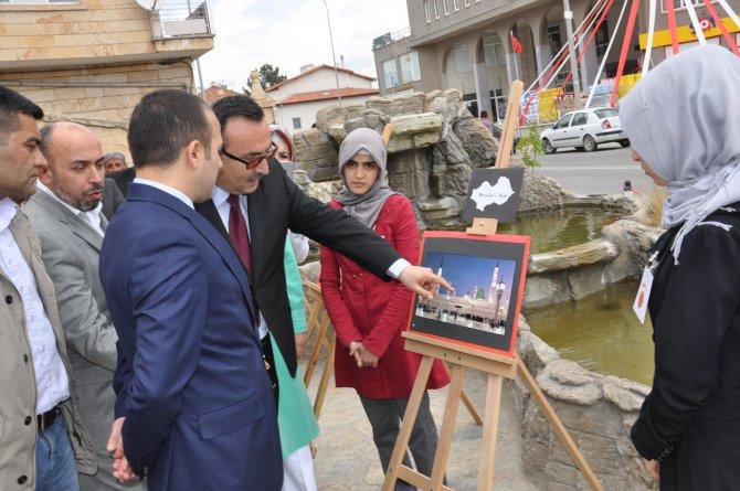 """Gülşehir'de """"Kutsal Emanetler"""" fotoğraflar sergisi açılışı"""