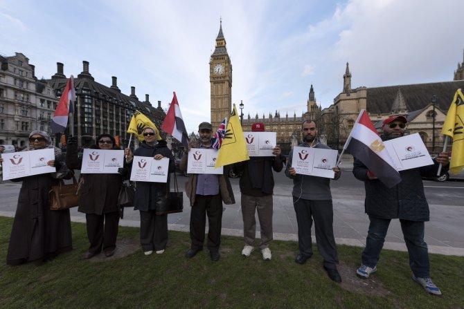 Londra'da Türkiye'ye teşekkür gösterisi