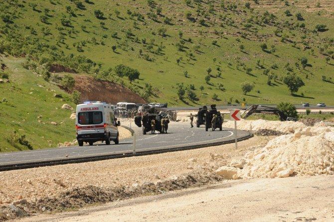 Mardin'de terör saldırısı: 6 polis yaralı