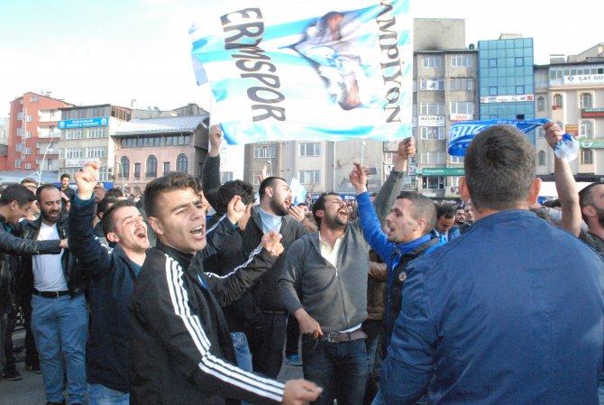 Büyükşehir Belediye Erzurumspor'un 2. Lig'e yükselmesi