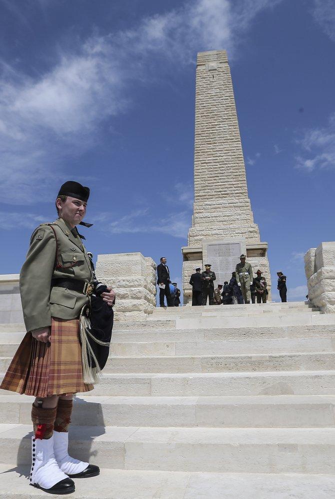 Çanakkale Kara Savaşları'nın 101. yılı