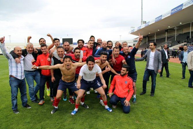 Elaziz Belediyespor 3. Lig'e çıktı