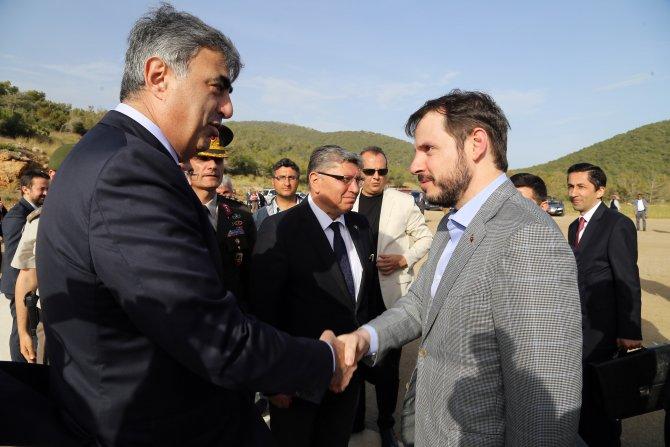 Enerji ve Tabii Kaynaklar Bakanı Albayrak Akkuyu'da