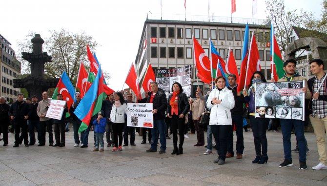 Ermenistan, Köln'de protesto edildi