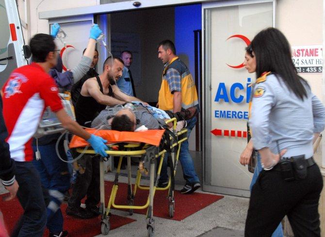 Kocaeli'de silahlı yaralama