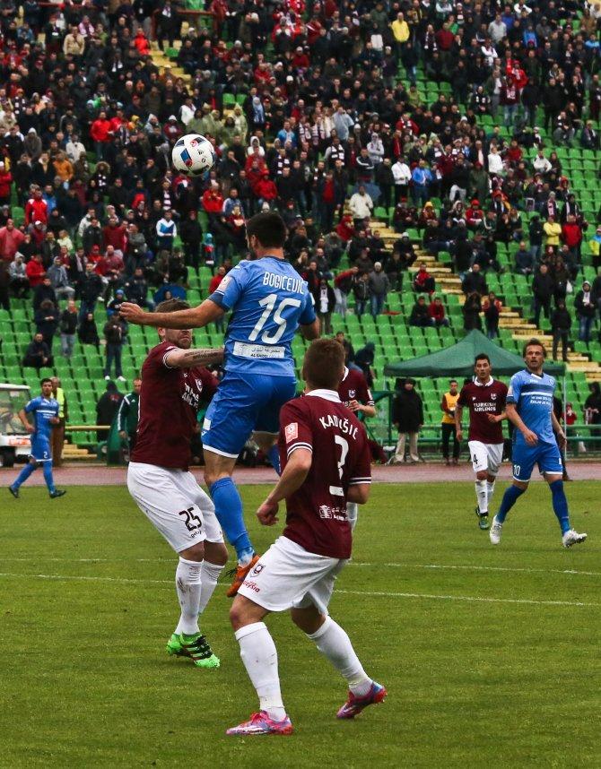 Saraybosna derbisini kazanan Zeljeznicar
