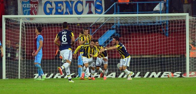 Trabzonspor-Fenerbahçe maçından notlar