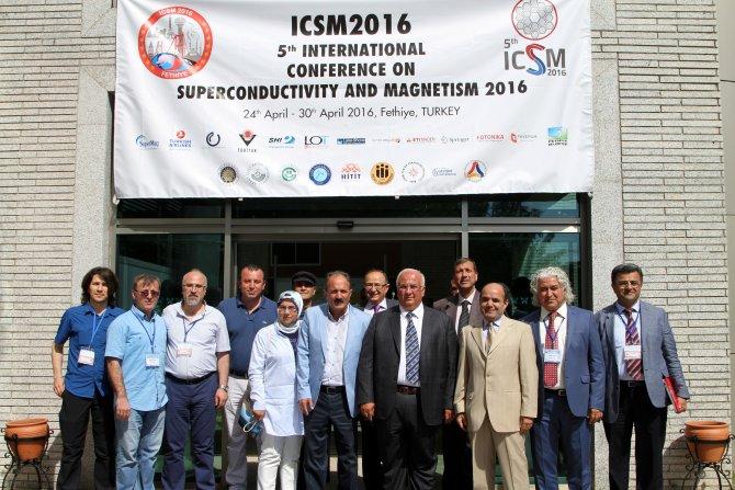 Uluslararası Süperiletkenlik ve Manyetizma Konferansı başladı