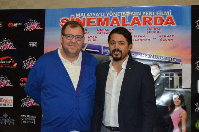 """""""Yola Geldik"""" filminin ekibi Malatyalılarla buluştu"""