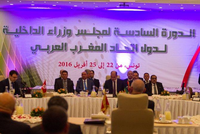 Arap Mağrip Birliği İçişleri Bakanları toplantısı
