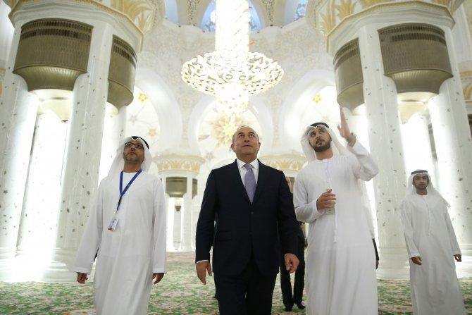 Dışişleri Bakanı Çavuşoğlu, Birleşik Arap Emirlikleri'nde