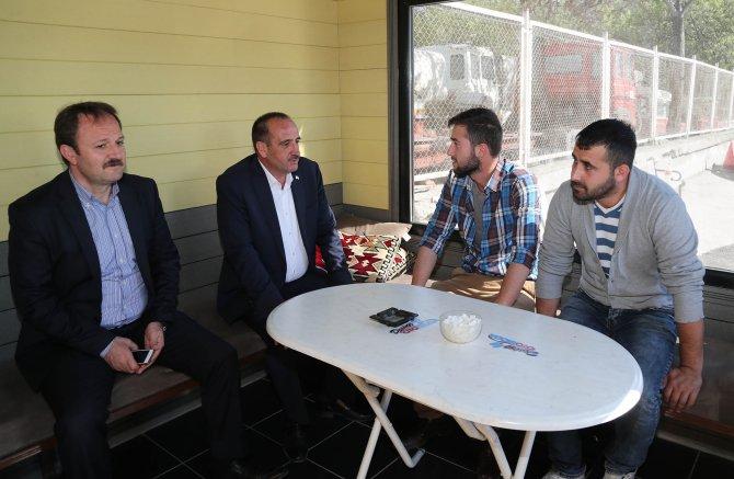 Gölbaşı Belediye Başkanı Duruay'dan inceleme