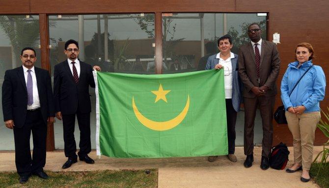 Moritanya Kültür Bakanı Cheikh EXPO'yu gezdi