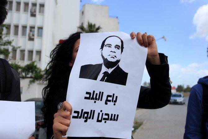 Tunus'ta Mısır rejimi karşıtı gösteri