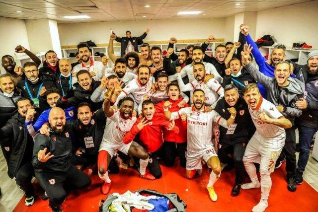 Samsunspor'da goller eşit dağıldı
