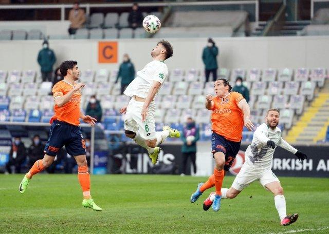 Süper Lig: Medipol Başakşehir: 1 - İH Konyaspor: 1 (Maç sonucu)