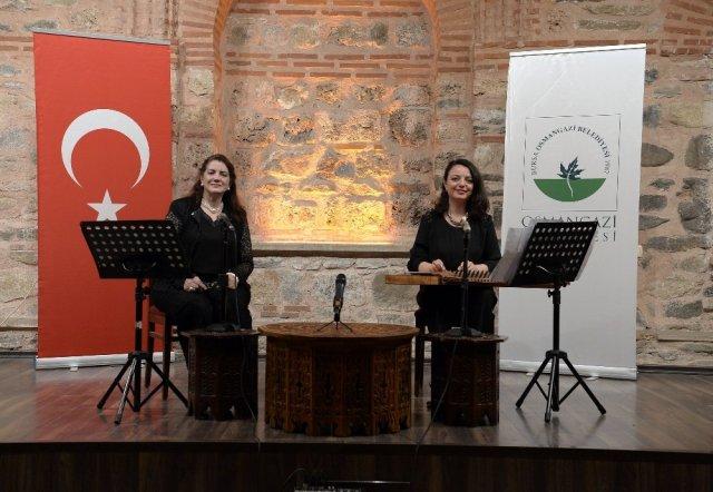 Kadın bestekarlar Osmangazi'de anlatıyor