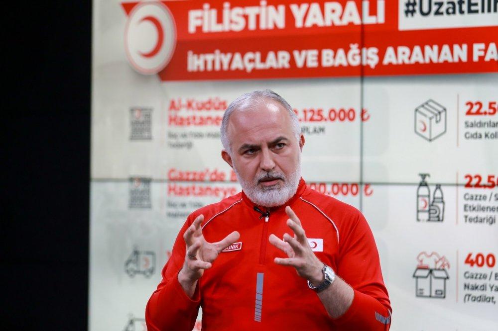 Türk Kızılay'dan Filistin için dünyaya insanlık ve dayanışma çağrısı
