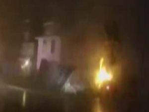 Gaz kaçağı evi havaya uçurdu