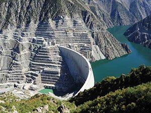Türkiye'nin En Yüksek Barajı Artvin Deriner Barajı