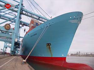 Rotterdam limanı yapımı