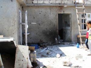 Canlı bombanın kendini patlattığı hücre evi