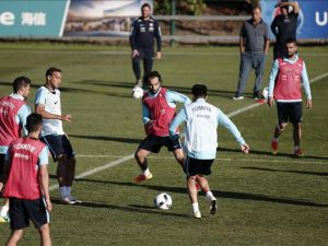 A Milli Futbol Takımı'nda İspanya maçı hazırlıkları