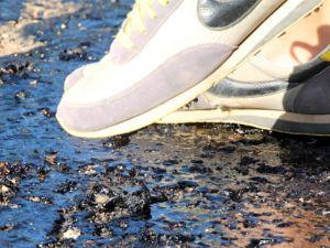 Fethiye'de asfalt ağladı
