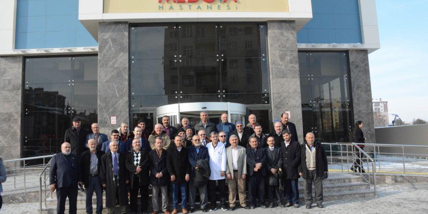 Medova Hastanesi, Selçuklu muhtarlarını ağırladı