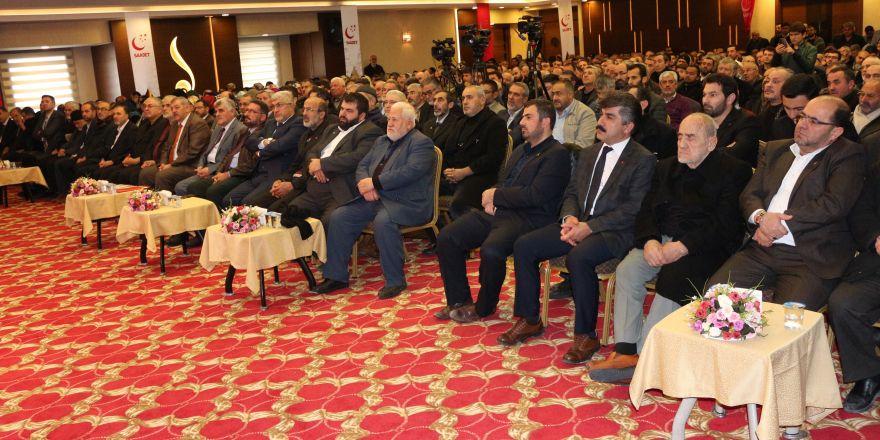 Karamollaoğlu,  İl Divan Toplantısı'nda  konuştu