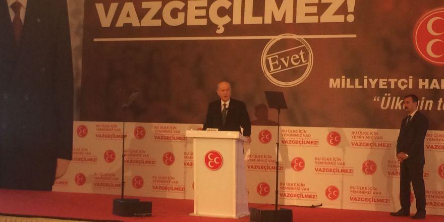 MHP lideri Devlet Bahçeli Konya'da konuştu