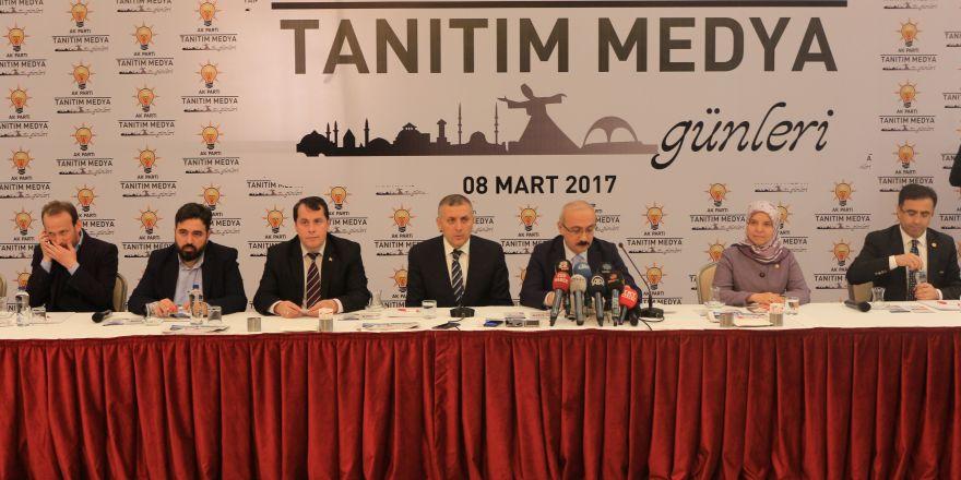 """Bakan Elvan """"Tanıtım Medya Günleri"""" programına katıldı"""