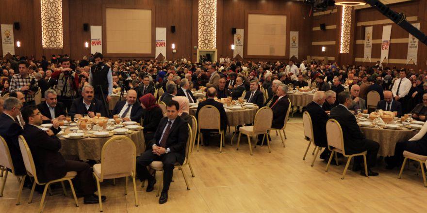 AK Parti Konya'dan vefa programı