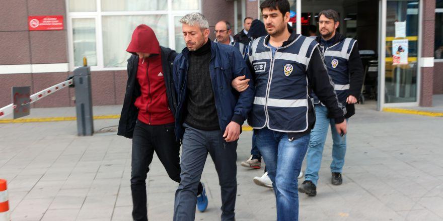 Şeker hırsızları tutuklandı