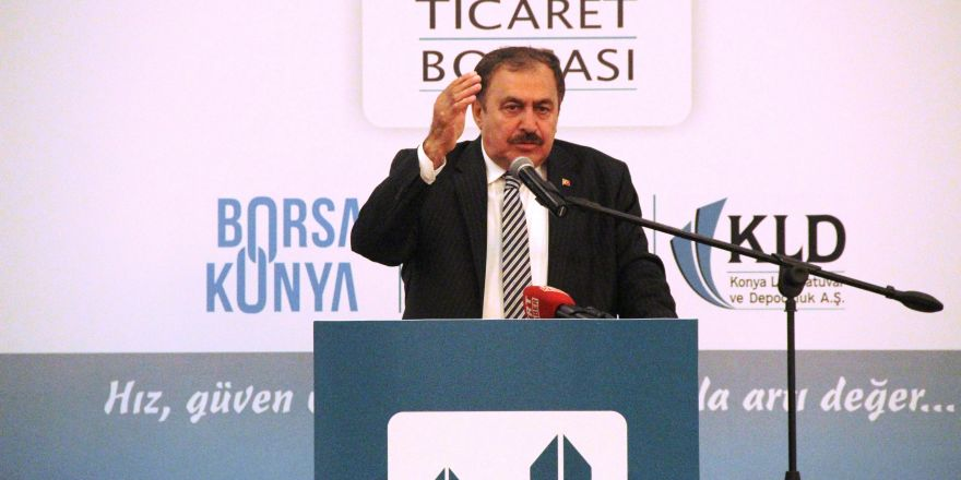 """Bakan Eroğlu """"Konya Üretiyor Türkiye Büyüyor"""" programına katıldı"""