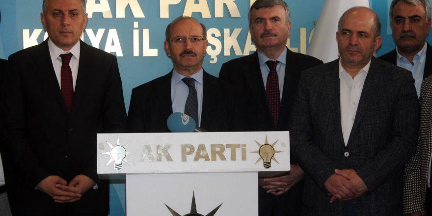 AK Parti Konya'da referandum süreci değerlendirildi
