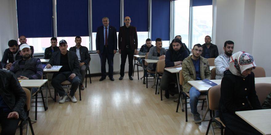 Konya'da girişimcilik eğitimi sürüyor