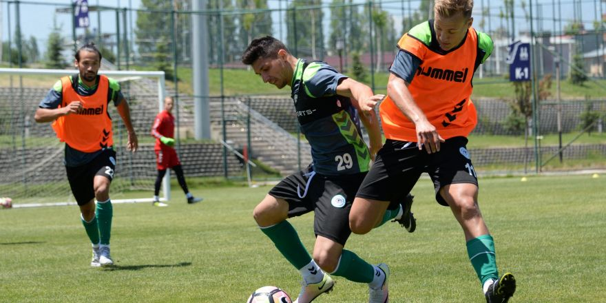 Konyaspor yeni sezon hazırlıklarına devam ediyor