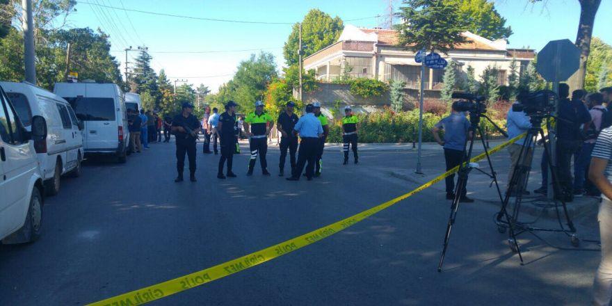 Konya'daki DAEŞ operasyonunda olay yerinden görüntü
