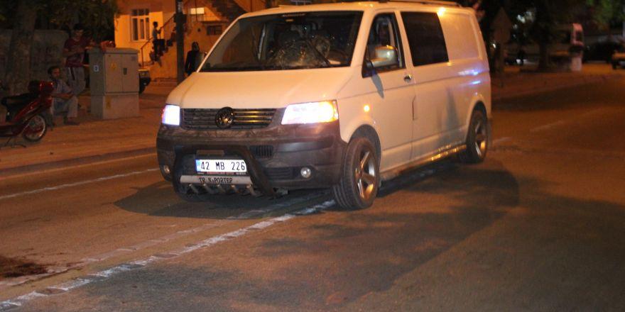Konya'daki kaza anı