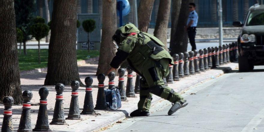 Konya'daki bomba paniği
