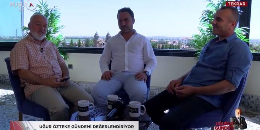 Uğur Özteke'nin konukları Konya'da Trafik Gurubu Yöneticileri