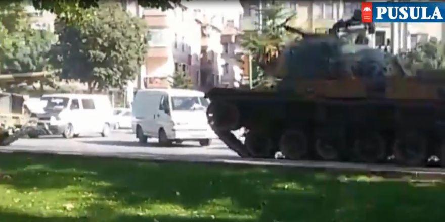 Konya'da Tanklar yürüdü