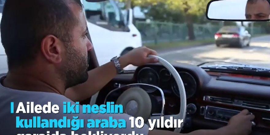 Yarım asırlık Mercedes yeniden yollarda