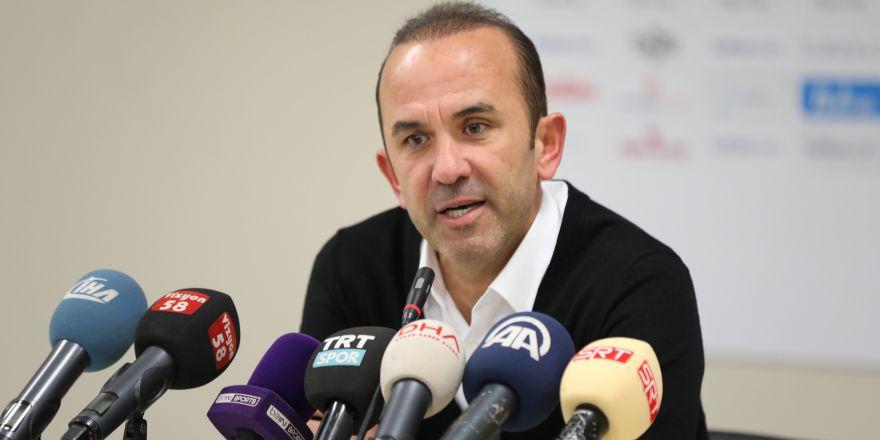 """Mehmet Özdilek: """"Kaybetmek bizi üzdü"""""""