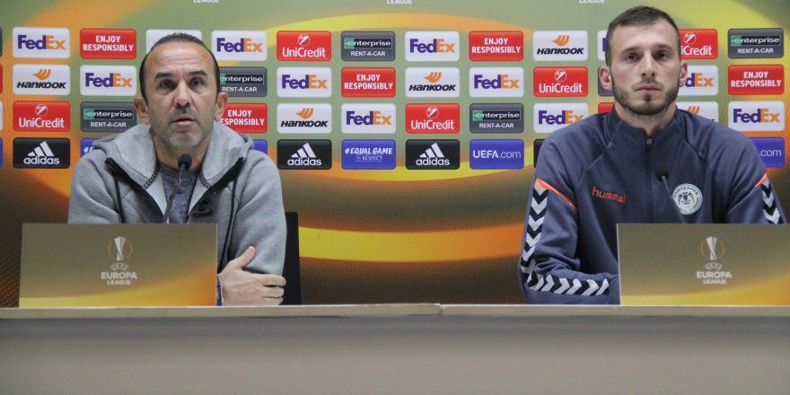 Maç öncesi Mehmet Özdilek ve Rudi Garcia'nın açıklamaları