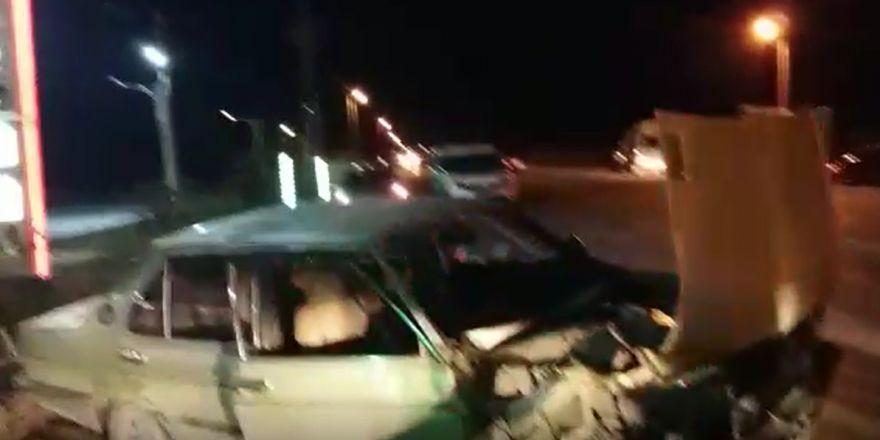 Kozağaç-Hatıp Yolu'nda feci kaza